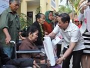 Diversas campañas a favor de las familias pobres se despliegan en Vietnam en ocasión