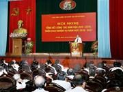 Academia Política Nacional Ho Chi Minh por mejorar la calidad de enseñanza