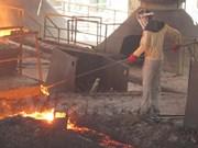 Sector de acero de Vietnam crecerá 12 por ciento en 2017