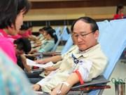"""Convocan en Vietnam movimiento de donación de sangre """"Domingo rojo"""""""
