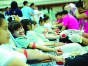 Localidades vietnamitas responden a campaña de donación de sangre