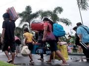 Filipinas: Masiva evacuación por depresión tropical