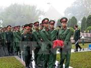 Celebran en provincia vietnamita ceremonia de entierro de mártires caídos en Laos