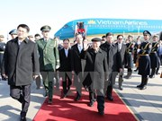 Reciben en China a líder partidista de Vietnam