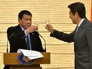 Shinzo Abe anuncia ayuda de ocho mil 700 millones de dólares a Filipinas