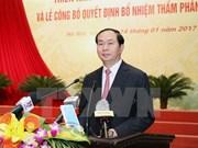 Presidente vietnamita pide mayor desempeño de las cortes nacionales
