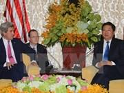 Secretario de Estado de Estados Unidos aprecia relaciones con Vietnam