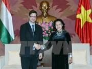 Vietnam sugiere mayor intercambio de delegaciones parlamentarias con Hungría