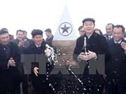 Presidente de Vietnam alza bandera nacional en pico Fansipan