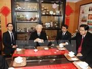 Secretario general del PCV visita provincia china de Zhejiang