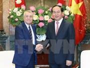 Presidente de Vietnam ofrece medidas para impulsar comercio con Azerbaiyán