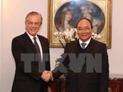 Premier propone mayor cooperación del Instituto suizo de Investigación Malik