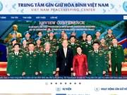 Centro de Mantenimiento de Paz de Vietnam lanza sitio web oficial