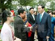 Vietnamitas en ultramar son parte inseparable de la Patria, afirma presidente