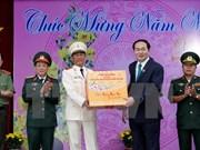 Presidente desea un Tet feliz y próspero para pueblo vietnamita de An Giang