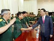 Presidente vietnamita pide mantener vigilancia de situación en el mar