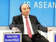 Exitosa participación del premier de Vietnam en Foro de Davos 2017