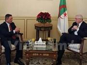 Argelia interesado en intensificar nexos legislativos con Vietnam