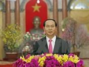 Presidente vietnamita felicita al pueblo en ocasión del Año Nuevo Lunar