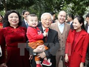 Líder partidista destaca avances de Hanoi