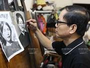 El arte de retratar en Hanoi