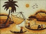 El alma vietnamita a través de las pinturas de arroz