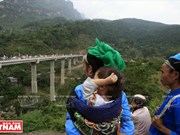 Cambio en la zona fronteriza remota de Xin Man