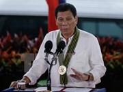 Presidente filipino excluye a policía de operaciones antidrogas
