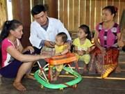 Programa de Unicef ayuda a más de tres mil niños en provincia de Dong Thap