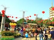 Festival budista promueve un estilo de vida saludable
