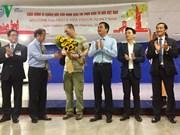 Ciudad Ho Chi Minh recibe a primer turista con visado electrónico