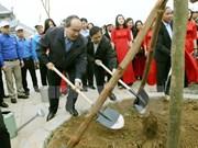 Promueven en Vietnam el movimiento de protección forestal