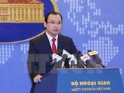 Portavoz: Apertura de sucursal bancaria china en isla vietnamita es ilegal