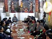 Festival de canto folclórico ameniza ambiente primaveral de provincia vietnamita