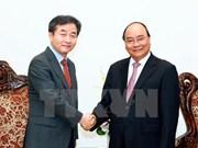 Premier de Vietnam recibe al presidente de Yonhap