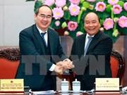 Gobierno y Frente de la Patria de Vietnam acuerdan intensificar coordinación