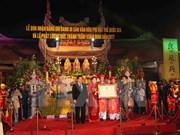 Festival de Templo Tran Thuong reconocido patrimonio intangible nacional