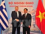 Vietnam y Grecia ratifican voluntad de propulsar cooperación bilateral