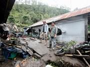 Inundaciones en Indonesia obligaron a miles de personas a abandonar sus hogares