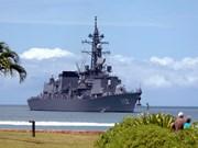Naves de guerra de Japón visitan Camboya