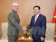 Vicepremier de Vietnam destaca lazos con escuela universitaria estadounidense