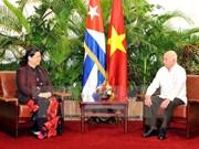 Continúa dirigente del Parlamento vietnamita visita a Cuba