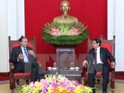 Funcionario partidista de Vietnam desea fomentar lazos con Argentina
