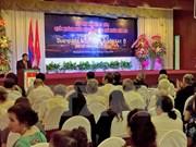 Dirigente laosiano aprecia aportes de Asociación de Amistad Vietnam – Laos