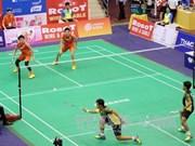 Japón gana campeonato de bádminton en Vietnam