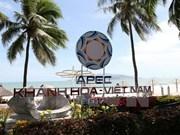 Continúan en Vietnam reuniones de altos funcionarios de APEC