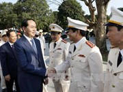 Presidente vietnamita pide a Thanh Hoa priorizar industrias clave