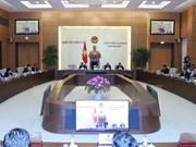 Comité Permanente del Parlamento vietnamita inicia séptima sesión