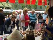"""Impresionante """"aldea de ASEAN"""" en festival cultural en Australia"""