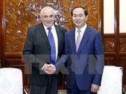 Presidente vietnamita respalda cooperación con Israel en sector de alta tecnología